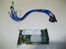 LSI MegaRAID 8-port RAID Controller PCI-X & 6 SATA Cables/Battery MR SATA 300-8X