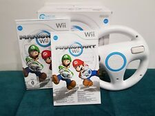 Mario Kart Official Wheel Boxed Nintendo Wii Fast Free Post Christmas Birthday