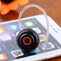 Wireless Mini Bluetooth Headset Stereo Earphone Headphone for iPhone Samsung R