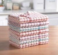 Kitchen Terry Tea Towels 100% Cotton Machine Washable Pack of 2, 4, 6, 8, 10, 12