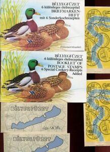 HUNGARY MNH BOOKLET Lot BIRDS etc 6 Items
