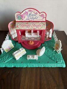 Vintage G1 My Little Pony MLP Petite Mane Delight (no Ponies) White