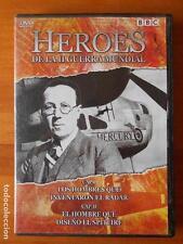 DVD HEROES DE LA II GUERRA MUNDIAL I - CAPITULOS I Y II (G7)