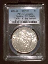 1880-O Morgan Dollars   PCGS AU details   VAM 49, 8/7 Ear Hangnail   New Orleans
