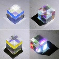 2X2X2cm Defective Cross Dichroic Cube Prism RGB Combiner Splitter Glass K4Q7