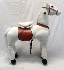 JUMBO GIDDY UP HORSE RIDE ONS (holds upto 178lbs) FAST USA Shipper