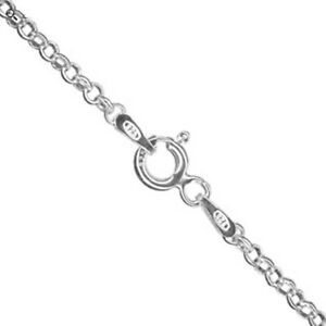 """925 Sterling Silver BELCHER CHAIN Necklace 16"""", 18"""", 20"""", 24"""", 30"""" - wholesale"""