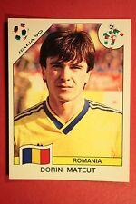 Panini ITALIA 90 N. 165 ROMANIA MATEUT VERY GOOD / MINT CONDITION!!