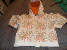 Sean John Ivory Zip Up Hoodie Childs Size 4