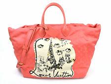 Louis Vuitton Cruise Line Monogram Cabas Nouvelle Vague Beach Bag Corail 98127a