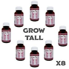 Become Taller with these Height Gain Pills, Grow up to 6 inches - 8 Month Course