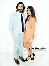 Publicité Advertising 019  2012    The Kooples haute couture homme F Beigbeder