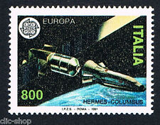 ITALIA 1 FRANCOBOLLO EUROPA CEPT HERMES 1991 nuovo**