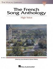 The French Song Anthology The Vocal Library High Voice Collection NEW 000740162
