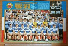 Poster football Yugoslavia youth team U20 FIFA World champions Chile 1987