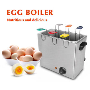 Commercial Electric Egg Boiler and Poacher Egg Cooker 30pcs/time Stainless Steel