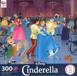 Disney 300 Pc Ceaco Jigsaw Puzzle Cinderella NIB