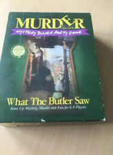 Murder Mystery Dinner Party Game - What The Butler Saw