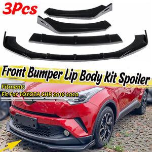 For Toyota Corolla Camry SE XSE CHR RAV4 4Runner Front Bumper Lip Splitte