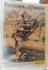 DOMENICA DEL CORRIERE 29 ottobre 1961 Umberto Calvi Rosalina Neri Albertazzi di