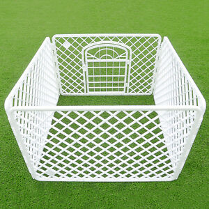 Exercise Playpen Pet Dog Puppy Folding Fence Play Pen Kennel Crate Cage Portable
