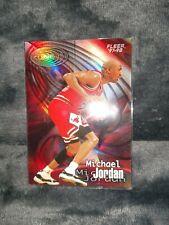 1997-98 FLEER Michael Jordan Fleer Zone Holo / Refractor Type SP !!