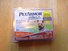 PetArmor Plus for Dogs & Puppies 4-22 Lbs - 3 Doses     Free  s/h