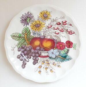Vtg Spode REYNOLDS fruit S2188 breakfast luncheon plate 8¾in (22cm) VGC
