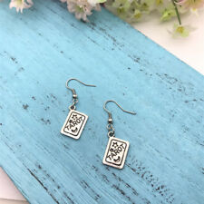 Gothic Fortune Teller, Gypsy Earrings Tarot Card Earrings Tarot Witchy Jewelry