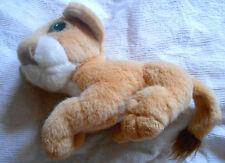 peluche doudou authentique disney Mattel 1993 le roi lion NALA couché beige king