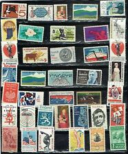 (14-013) 35+ Assorted Mint  US .05 cent  Postage sTamps