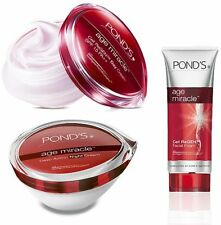 Pond's Age Miracle Anti-Ageing Set (Day + Night Cream +Facial Foam)