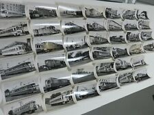 Lehigh Valley Transit, LVT trolley photos, large lot of 40, 616 or 626 size, PA