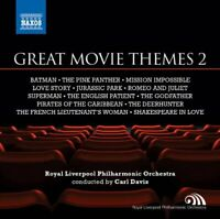 Royal Liverpool Philharmonic Orchestra - Great Movie Themes Volume 2 [CD]