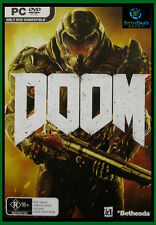 DOOM  PC Game **Brand New/Sealed & AUS Stock**