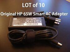 LOT of 10 Genuine Original OEM HP 65W Smart AC Adapter Pavilion G4 G5 G6 G7