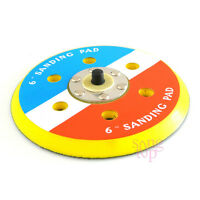 Backed Hook Face 6 Inch Sanding Polishing Pad 5/16-24 TPA For DA Sander