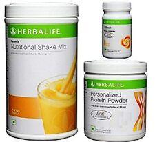 Herbalife Formula 1 Mango 500 gm Personalized Protein Powder 200 gm Afresh Lemon