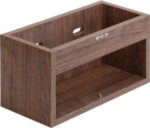 Zomo vs-Box 1/45 Walnut Record Box Lp-Regal For Ca 50 Vinyls MDF Wood