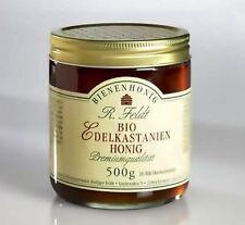 BIO Edelkastanienhonig Honig 100%  naturrein Brotaufstrich DE-ÖKO-006