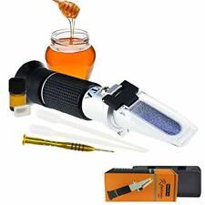 Honey Moisture 5890 Brix Refractometer With Atc Handheld High Measuring Ran