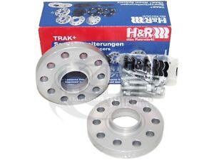 H&R 15mm DRS Series Wheel Spacers (5x100/56/12x1.25) for Saab/Scion/Subaru