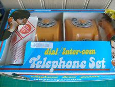 Vintage Toy Telephone Set: 1970's / Yugoslavia Mehanotehnika - Boxed / VGC!