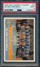 PSA 9 MICHAEL JORDAN 1992 ACC Tournament Champions #29 UNC Tar Heels GOAT MINT
