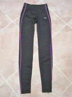 Mizuno Drylite - Womens Black Stretch Running / Sport Leggings - XS