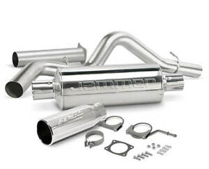 Edge 17658 Edge Jammer Cat-Back Exhaust System - w/o Catalytic Converter