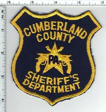 Cumberland County Sheriff's Dept. (Pennsylvania) Shoulder Patch from the 1990's