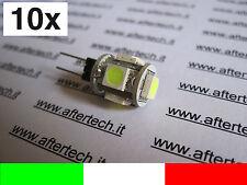 LOTTO 10 G4 LAMPADINA FARETTO LED 12v BIANCO FREDDO v2