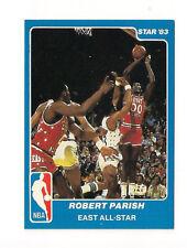 1983 STAR COMPANY ROBERT PARISH  ALL STAR CARD #9