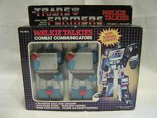 vintage Transformers Combat Communicators Walkie Talkies G1 Soundwave Durham MIB